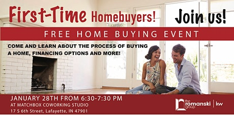 FIRST TIME HOME BUYER HANGOUT tickets