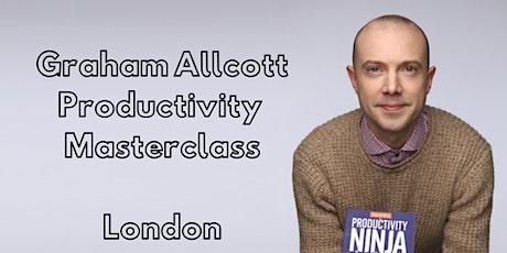 Copy of Copy of The Graham Allcott Productivity Masterclass tickets