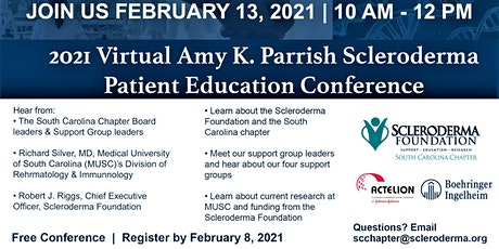 2021 Amy K. Parrish Scleroderma Education Conference  #1 of 2 tickets