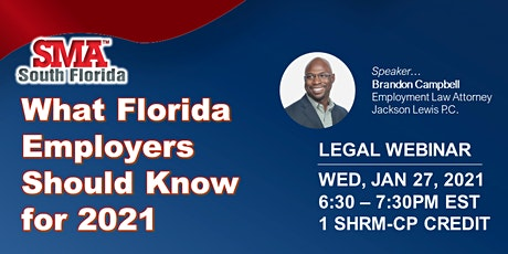 What Florida Employers Should Know for 2021 tickets