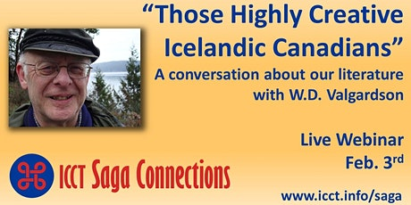 "Saga Connections #2 ""Those Highly Creative Icelandic Canadians"" tickets"
