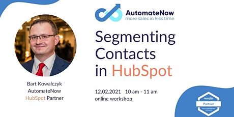 Segmenting Contacts in HubSpot 12.02.2021 tickets