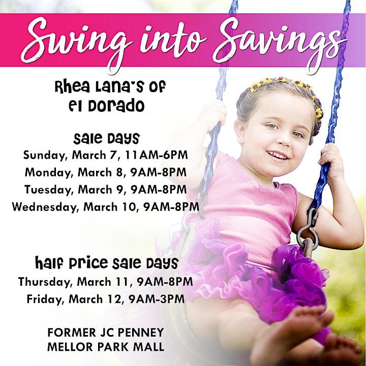 Rhea Lana's of El Dorado Spring & Summer Children's Consignment Sale image