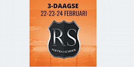 RS Voetbalschool 3-Daagse | 22-23-24 Februari tickets