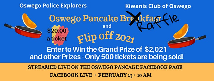 The Oswego Pancake Breakfast Raffle & Flip Off image