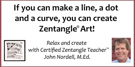 Third Tuesday Tangle - Relax with a Zentangle® Drawing Workshop - 2/16/21 tickets