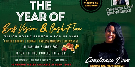 BOSS VISIONS X CASH FLOW POP UP SHOP/VISION BOARD tickets