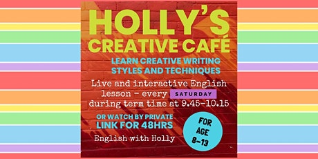 Holly's Creative Café (30/1/21) tickets