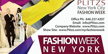 Fashion week NY Virtual Audition Plus/ Curve Model tickets