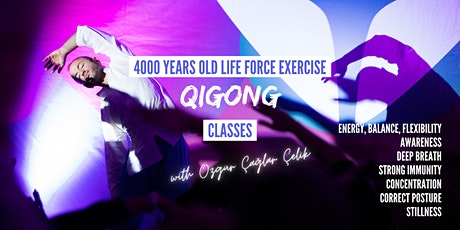 Online Qigong (Chi Kung) Group Classes / Uzaktan Çigong Dersleri tickets