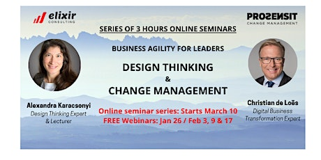 Webinar Demystifying Business Agility – How to succeed in a disrupted world tickets
