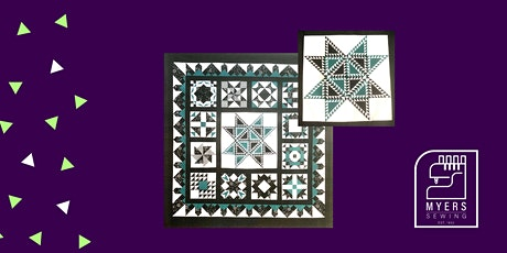 Star Spangled Blue Paper Piecing Block of the Month tickets