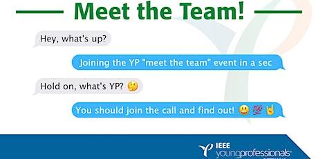 IEEE OTTAWA YPAG: Meet the Team tickets