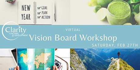 May 26th Virtual Vision Boarding / Goal Setting Workshop tickets