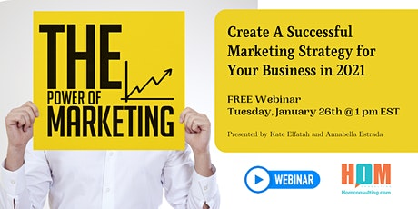 Create A Successful Marketing Strategy for Your Business in 2021 tickets