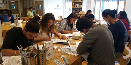 Brush Calligraphy Beginners Classes ( 5 Days) tickets