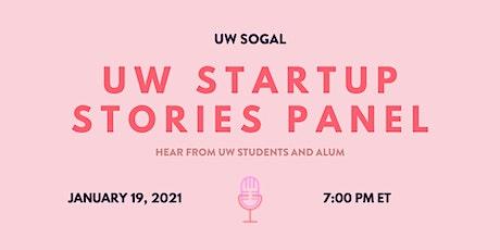 UW Startup Stories Panel (SoGal Waterloo) tickets