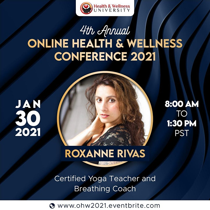 2021 Online Health and Wellness Conference image