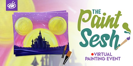 "Online Painting Class – ""Magic Castle"" (Virtual Painting at Home) tickets"