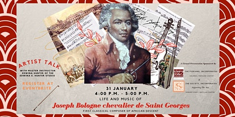 The Life and Music of Joseph Bologne chevalier de Saint  Georges  tickets