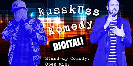 KussKuss Komedy Digital Open Mic Tickets