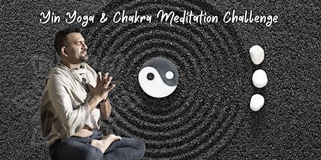Yin Yoga & Chakra Awakening Challenge ingressos