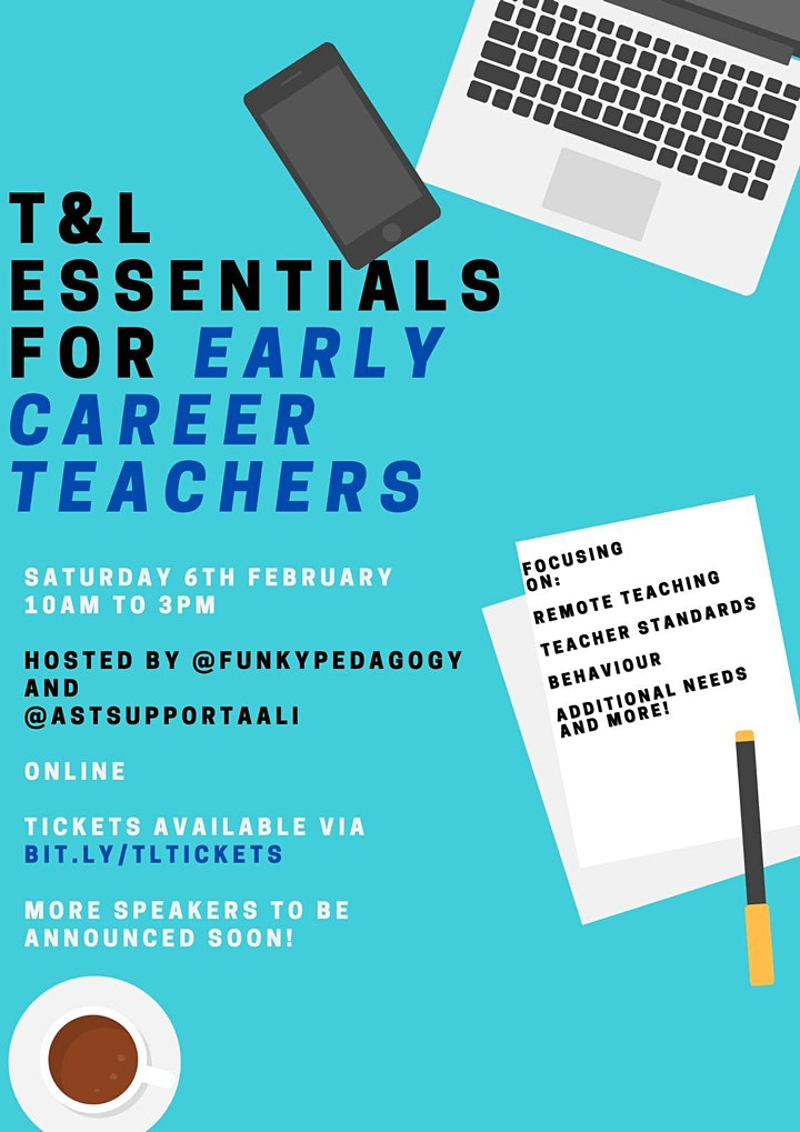 T&L Essentials: a Conference for Early Career Teachers image