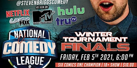 National Virtual Comedy League: FINALS - FRI 2/5 at 6 pm PST tickets