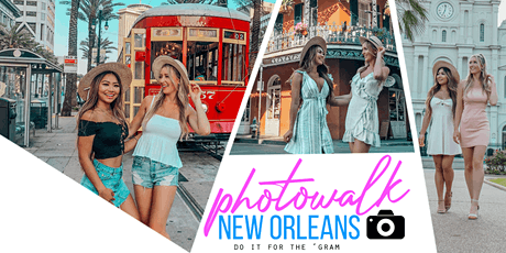 Photowalk New Orleans - Instagram Photo Tour tickets