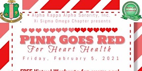 Xi Sigma Omega Pink Goes Red Event tickets