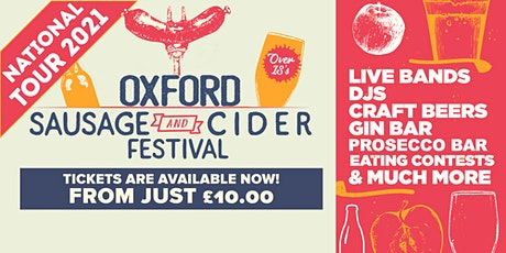 Sausage And Cider Fest - Oxford tickets
