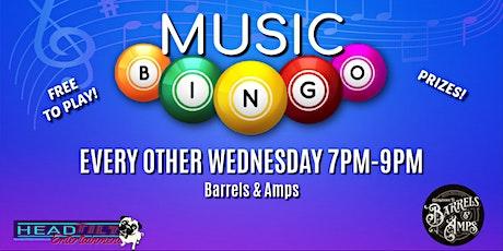 Music Bingo at Barrels & Amps tickets