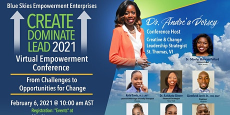 Create Dominate Lead 2021 Virtual Empowerment Conference tickets