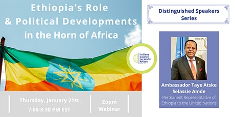 Ethiopia's Role and Political Developments in the Horn of Africa tickets
