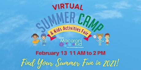 2021 Virtual Summer Camp & Kids Activities Fair tickets
