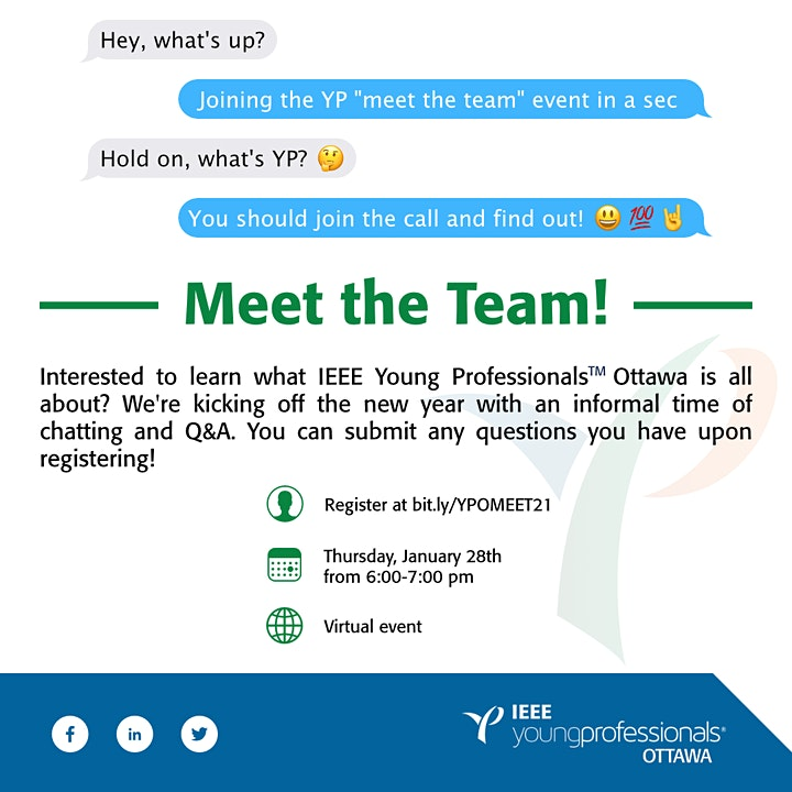 IEEE OTTAWA YPAG: Meet the Team image