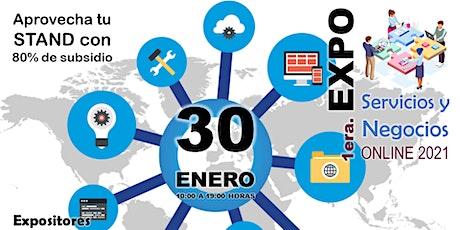 EXPO SERVICIOS Y NEGOCIOS ONLINE boletos