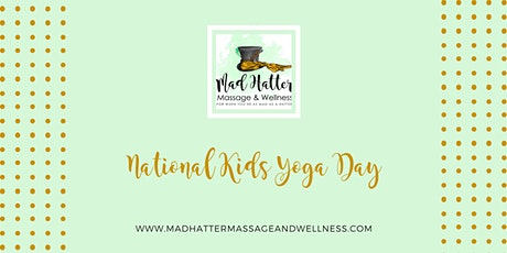 National Kids Yoga Day tickets