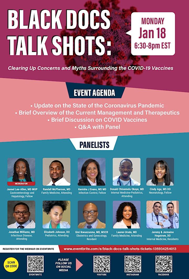 Black Docs Talk Shots image