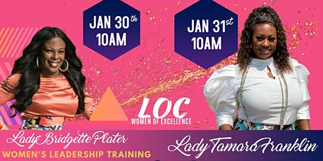 WOMEN OF EXCELLENCE LEADERSHIP TRAINING tickets