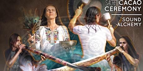 """""""Sacred Heart"""" Cacao & Sound Alchemy Ceremony w/ InnerFlight Harmonics tickets"""