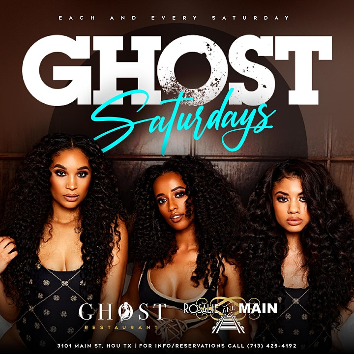 GHOST SATURDAYS image