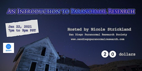 An Introduction to Paranormal Investigation tickets