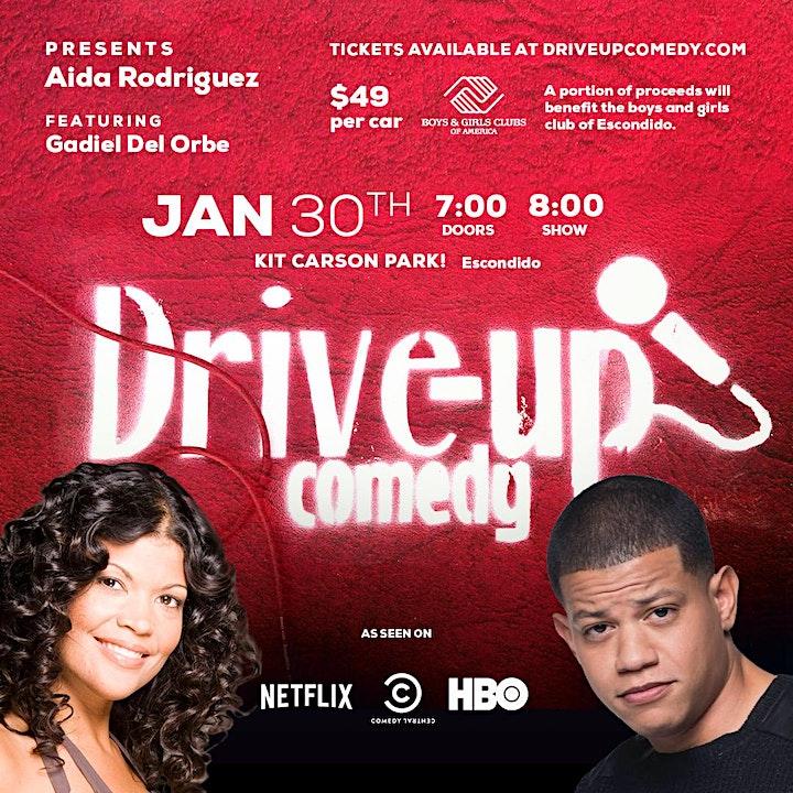 Drive Up Comedy Presents Aida Rodriguez! image