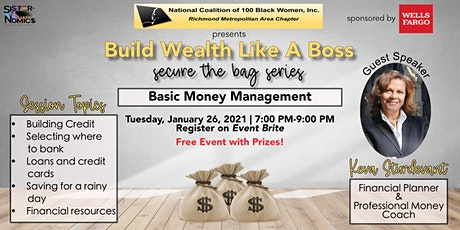 NCBW RMAC Build Wealth Like a Boss, Secure the Bag Series tickets
