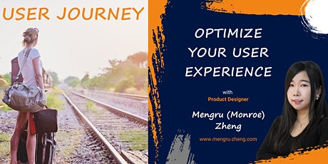 Optimise Your User Experience ' [User Journey.Persona.Design Thinking.ONLIN tickets