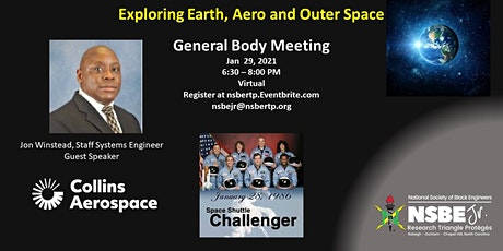 RTP NSBE JR - January GB Meeting - Exploring Earth, Aero and Outer Space tickets