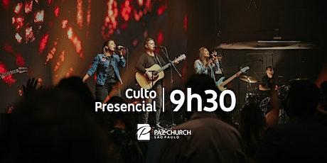 Culto de Celebração 9h30 | Domingo, 17 de Janeiro | Paz São Paulo ingressos