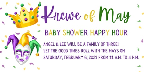 Krewe of May Baby Shower tickets