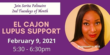 Lupus Foudation of America - Southern California Telechat (all welcome) tickets